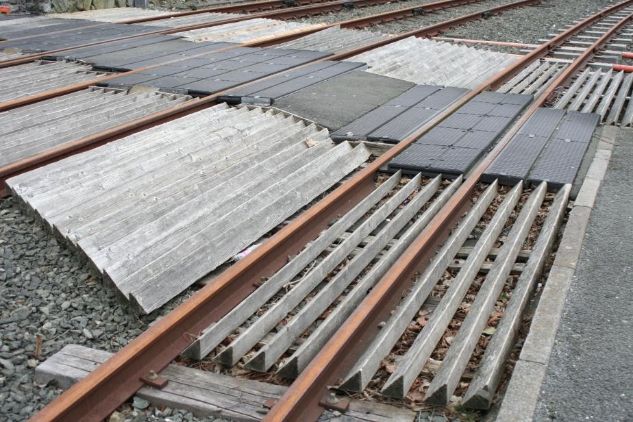 Railway Lines at Blaenau Ffestiniog