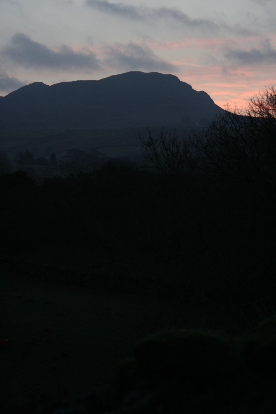 Sunrise at Ffestiniog