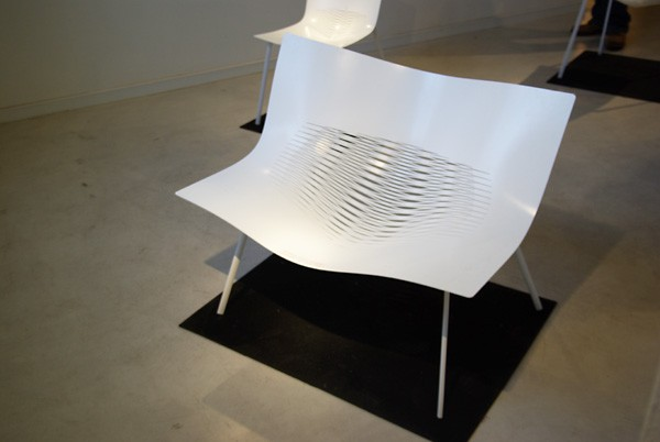 Tim Miller StretchOut chair - CUTform project