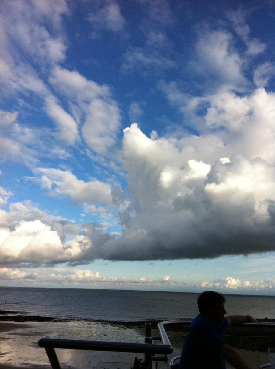 Langland Bay skies