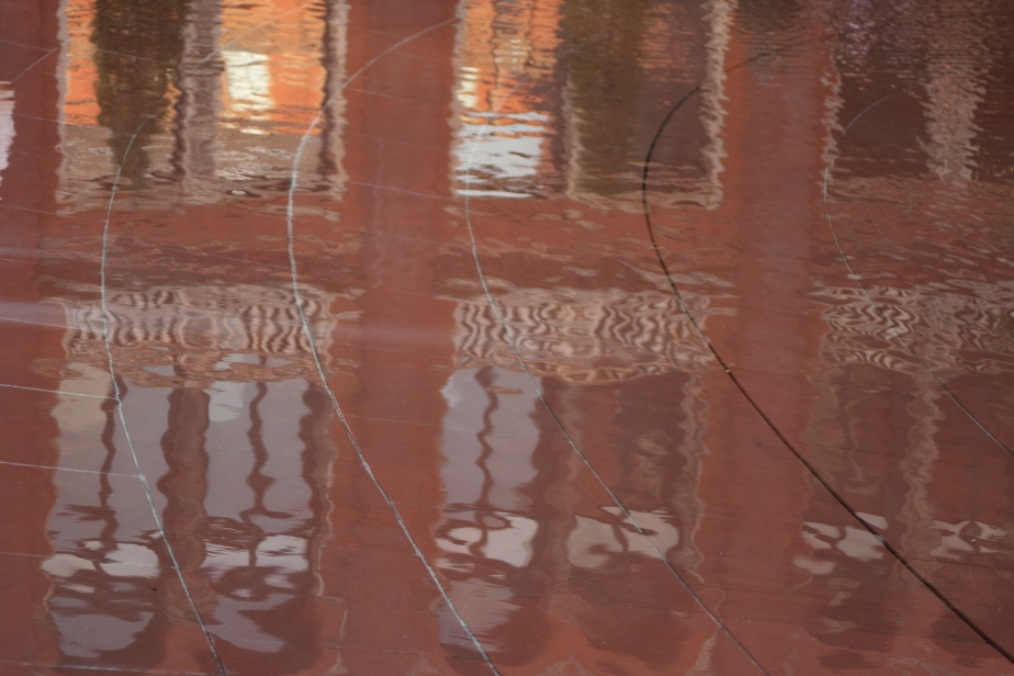 The Reflecting Pool at The Victoria and Albert Museum