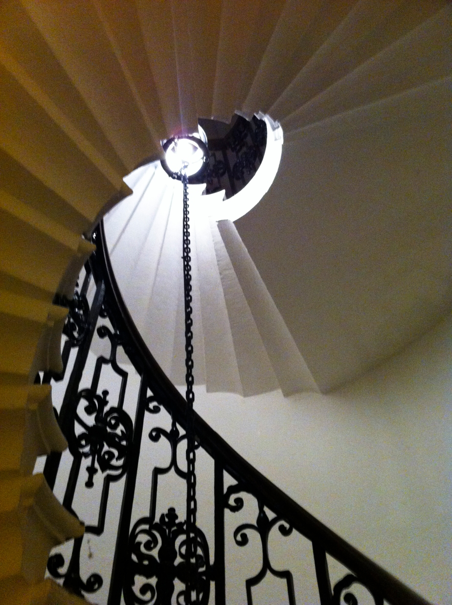 Spiral Staircase – The Chapel of the Old Royal Naval College