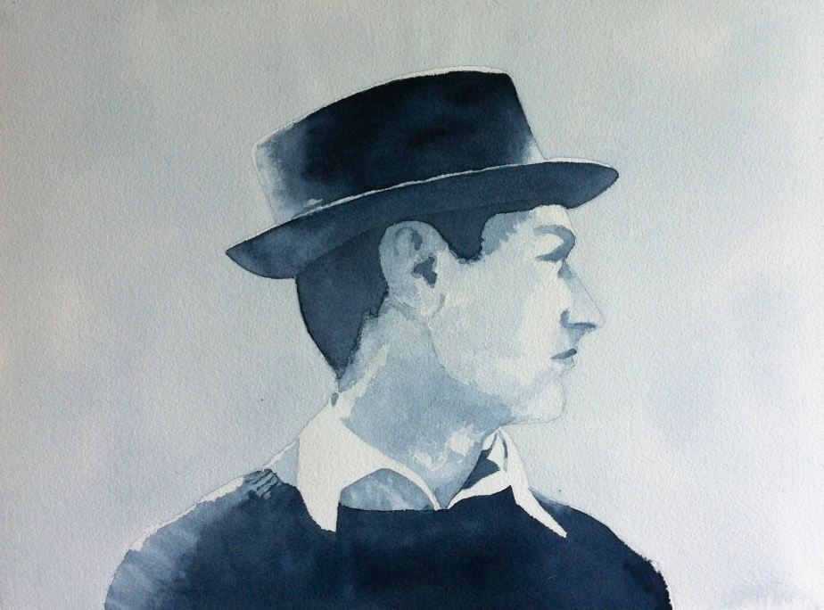Peter in watercolour