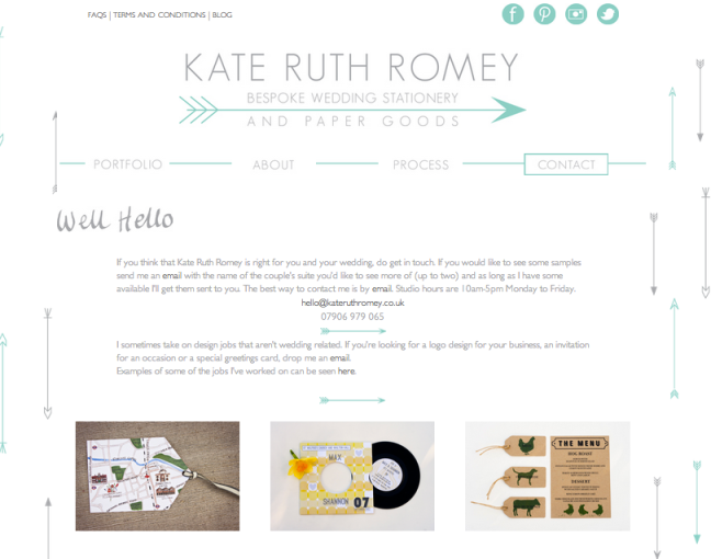 Kate Ruth Romey - Design