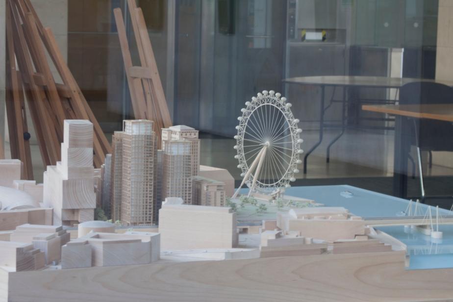 London Eye model