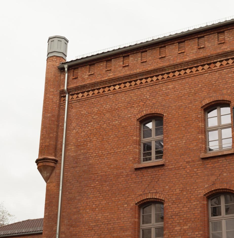Good brickwork at Bildungstatte
