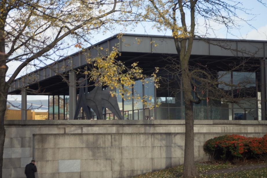 The New Art Gallery - Mies Van de Rohe