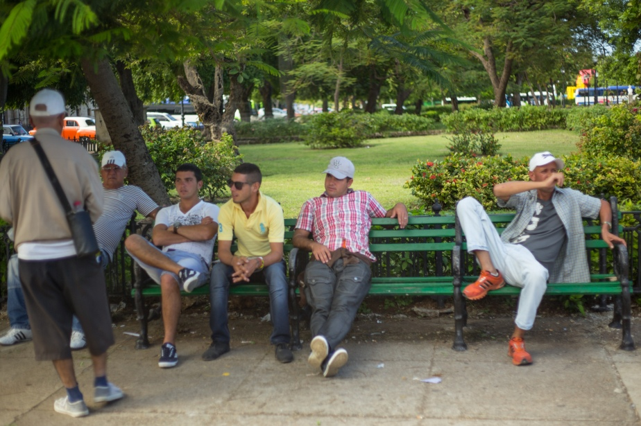 The heat and humidity slows you down, nothing is done in a rush, sit a while on a bench and enjoy the banter