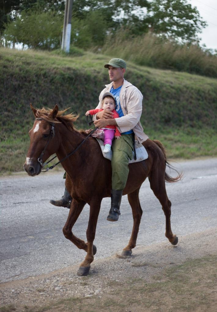 horseback dad