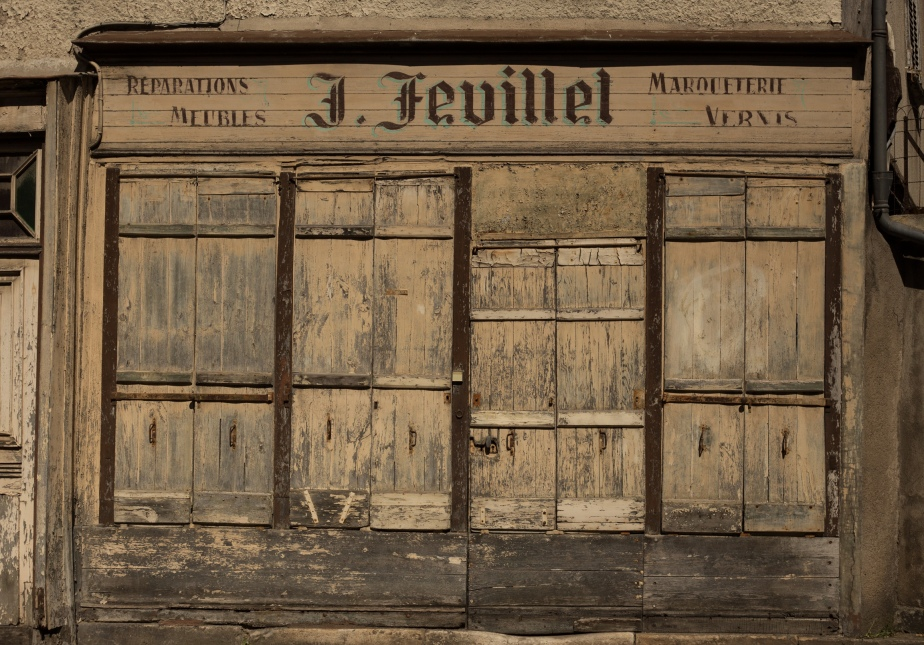 Marquetry, Varnishing (French Polish) and Furniture Repairs. Monsieur J. Feuilet is sadly long gone.