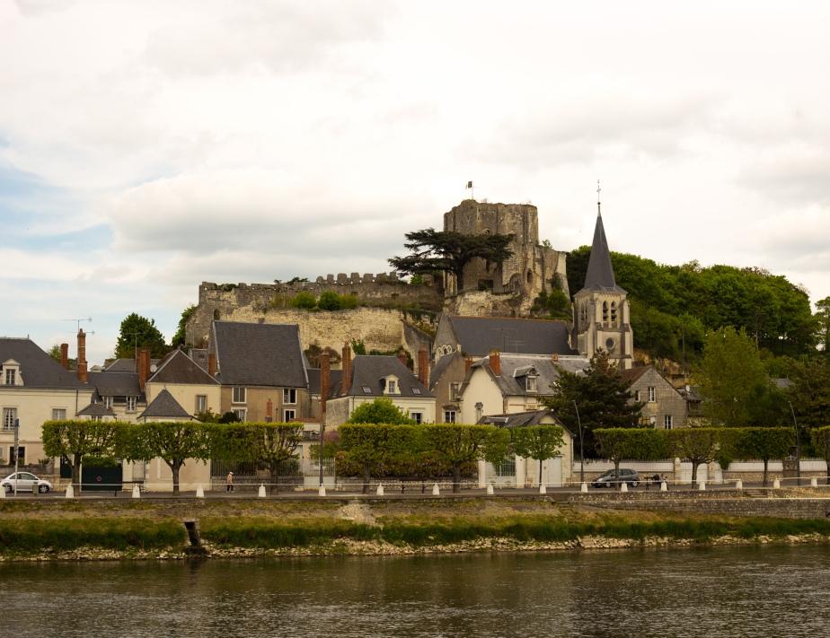 Chateau de Montrichard on the Loire