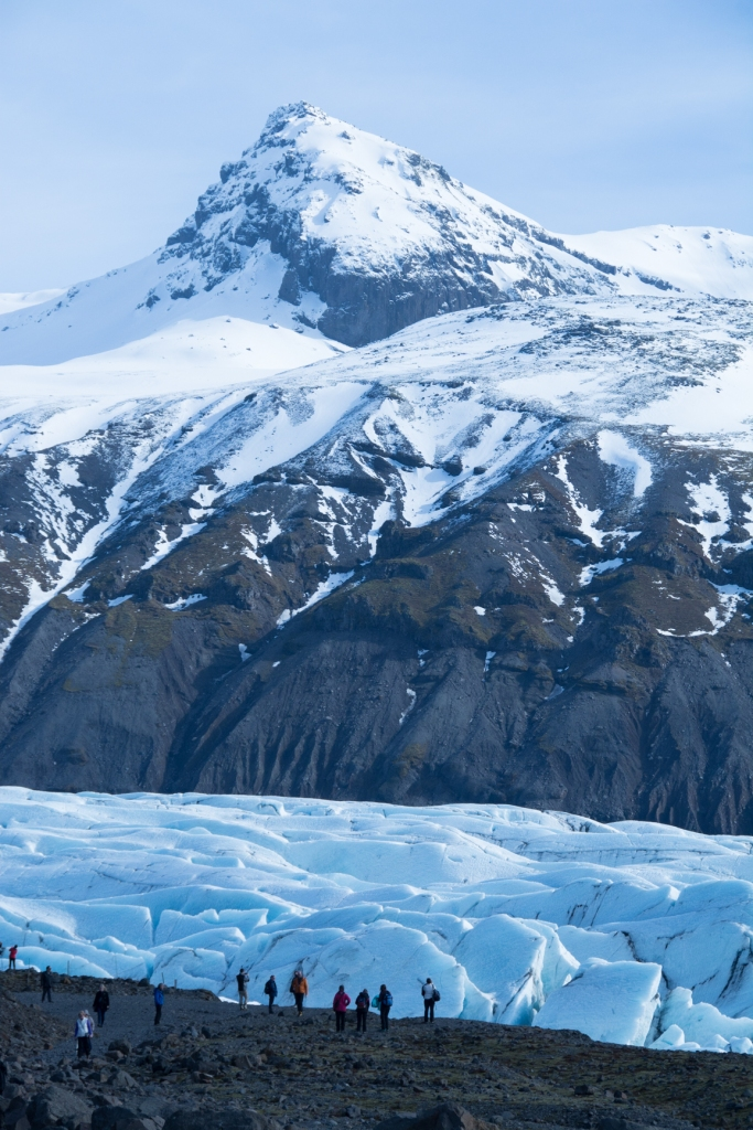 iceland Vatnajokull Mountains