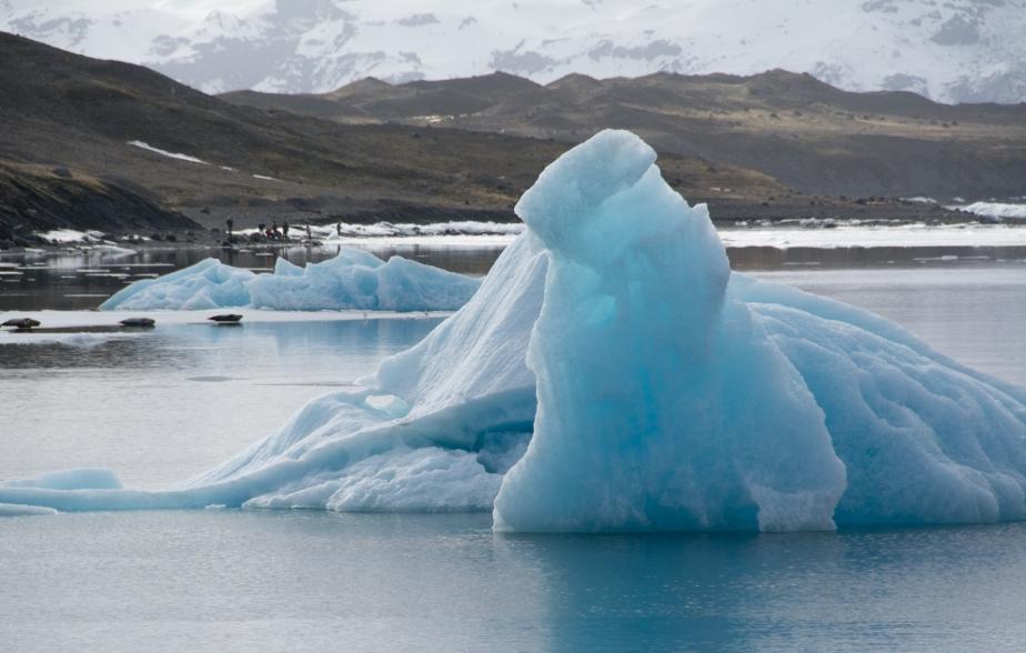 iceland ice-floe