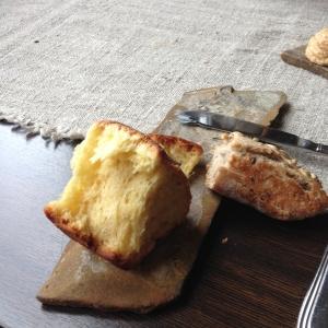 Bricoche and 5 seed bread