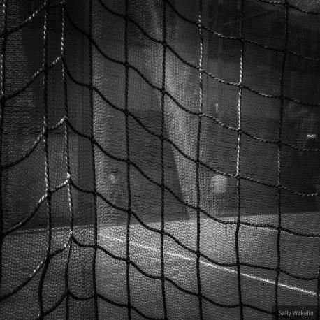 Netting around a children's playground