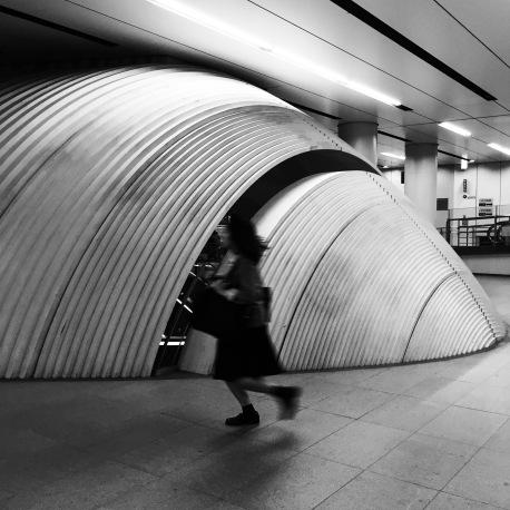 Somewhere in the Tokyo underground