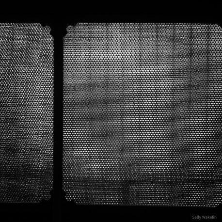 Split bamboo screen
